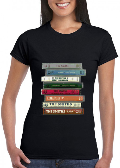 The Smiths Cassettes T-Shirt  - HQ Digital Printing Women