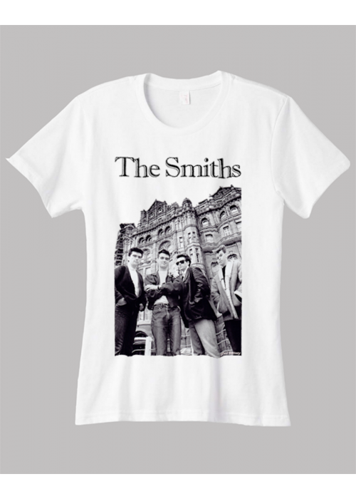 ONLY L, XL & 2XL  -The Smiths Manchester Woman White T-Shirt