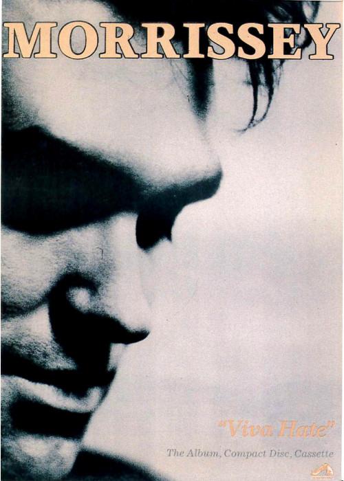 Morrissey 'Viva Hate'  Postcard
