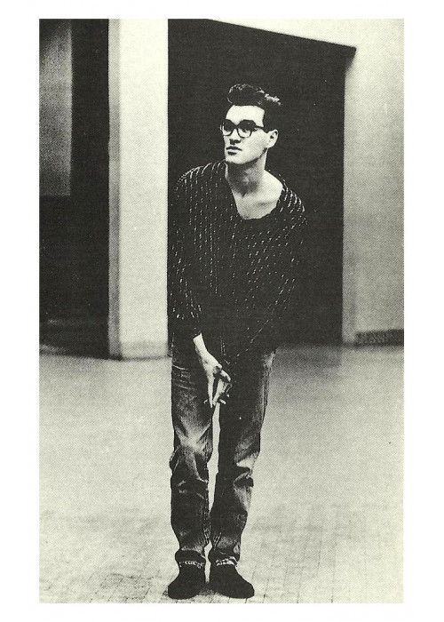 Morrissey of The Smiths Postcard