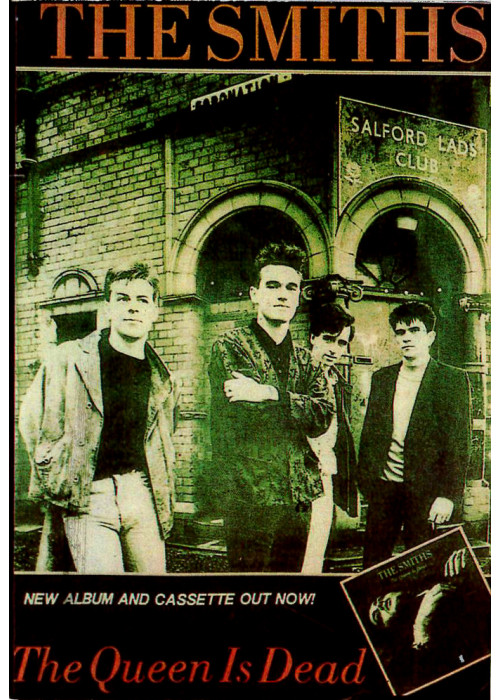 The Smiths The Queen is Dead Postcard