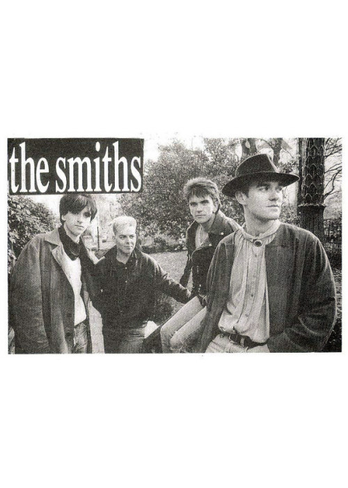 The Smiths Band in Montmartre - Postcard