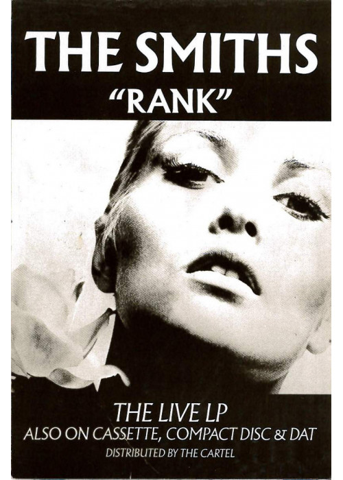 The Smiths Rank Postcard