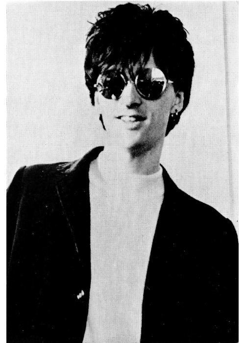 Johnny Marr -  The Smiths Rough Trade Original Promo Postcard