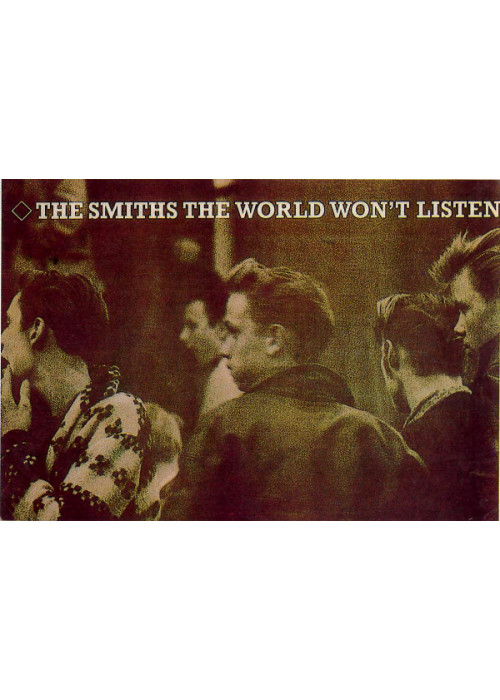 The Smiths The World Wont Listen Postcard