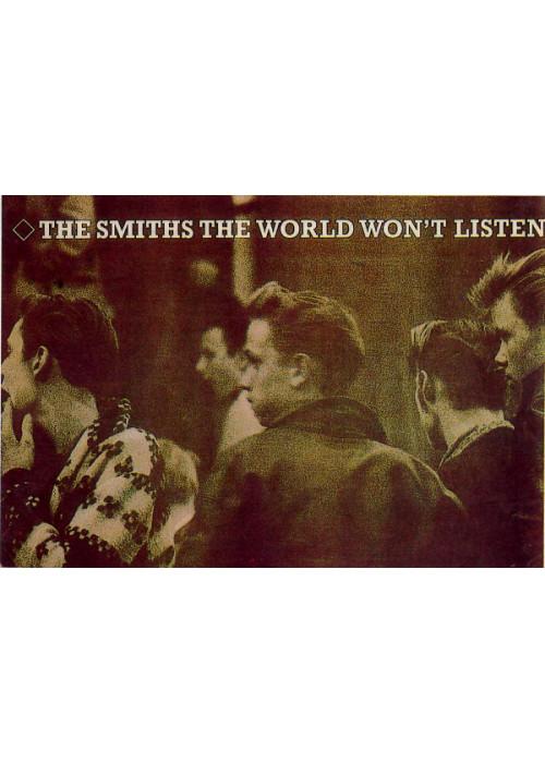 The Smiths The World Wont Listen Postcard