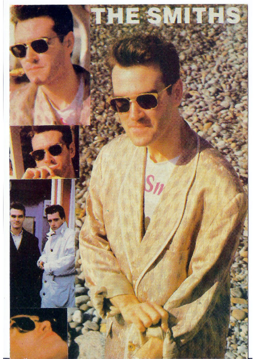 Morrissey and Marr : The Smiths Postcard