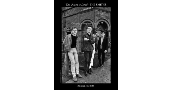 e39b7cf134fc The Smiths Salford Lads Club Original Print - The Queen Is Dead SPECIAL  EDITION SIGNED