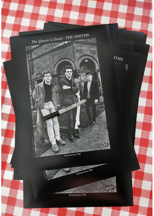 The Smiths Salford Lads Club Original Print - The Queen Is Dead  SPECIAL EDITION SIGNED