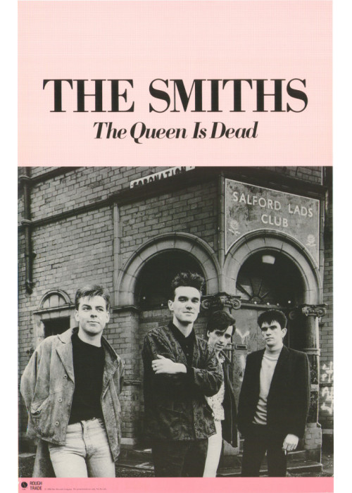 The Queen is Dead US Poster