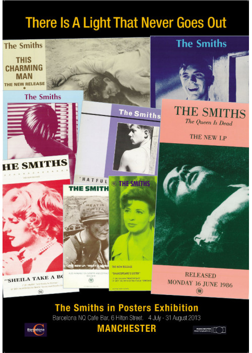 The Smiths Exhibition Promo Poster
