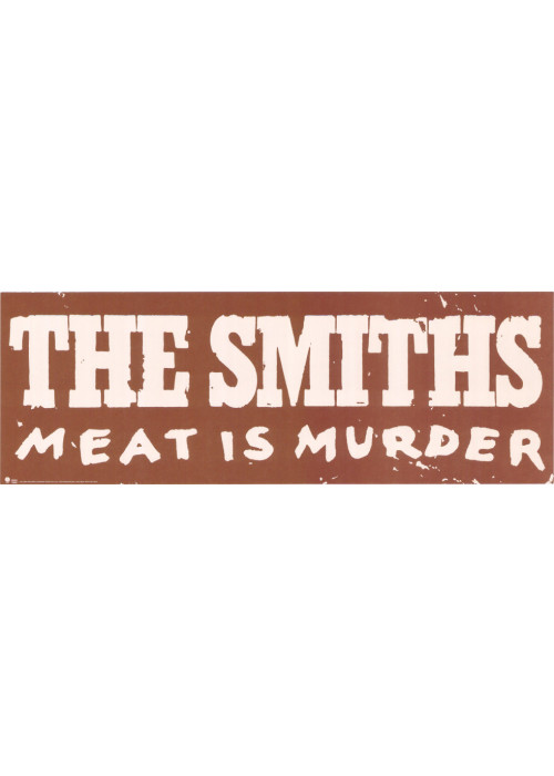 Meat is Murder US Pre-Release Promo Poster