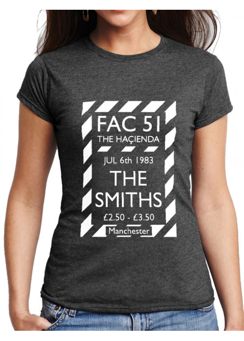 ONLY L, XL & 2XL Avail. -Haçienda Promo Poster The Smiths T-Shirt:  Women