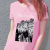 The Smiths Manchester Woman HQ T-Shirt - Pink