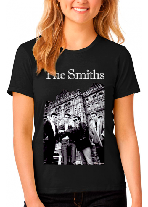 ONLY XL & 2XL Avail - The Smiths Manchester Woman Black T-Shirt