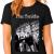 The Smiths Manchester Woman Black T-Shirt - HQ Printing