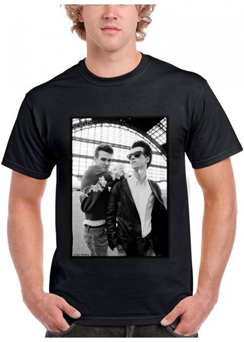 ONLY  4XL Avail. - Morrissey Marr T-Shirt - ©Paul Slattery