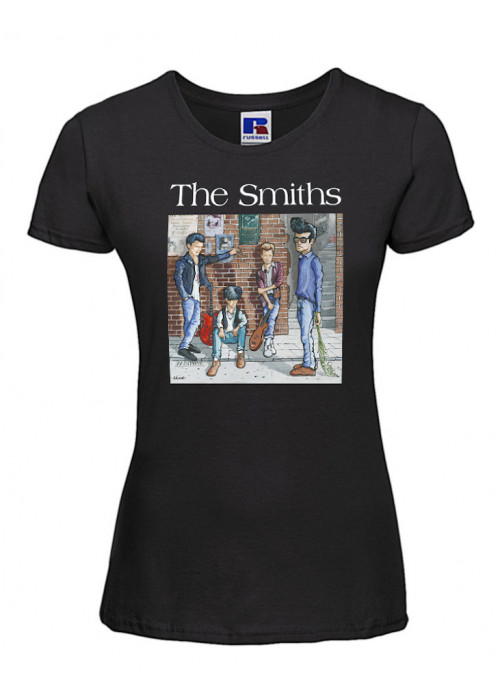 The Smiths Band Painting- Women T-Shirt
